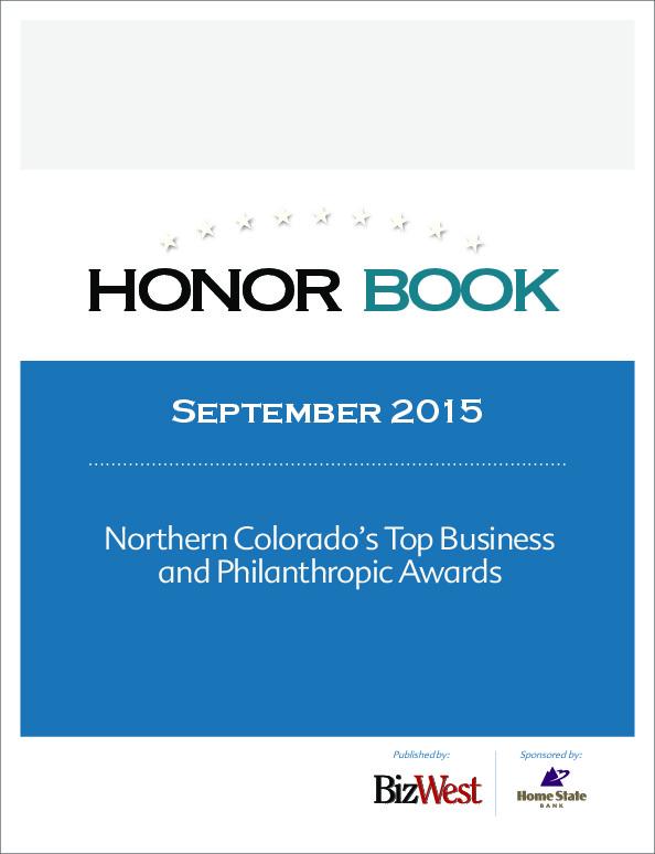 Northern Colorado Honor Book – 2015