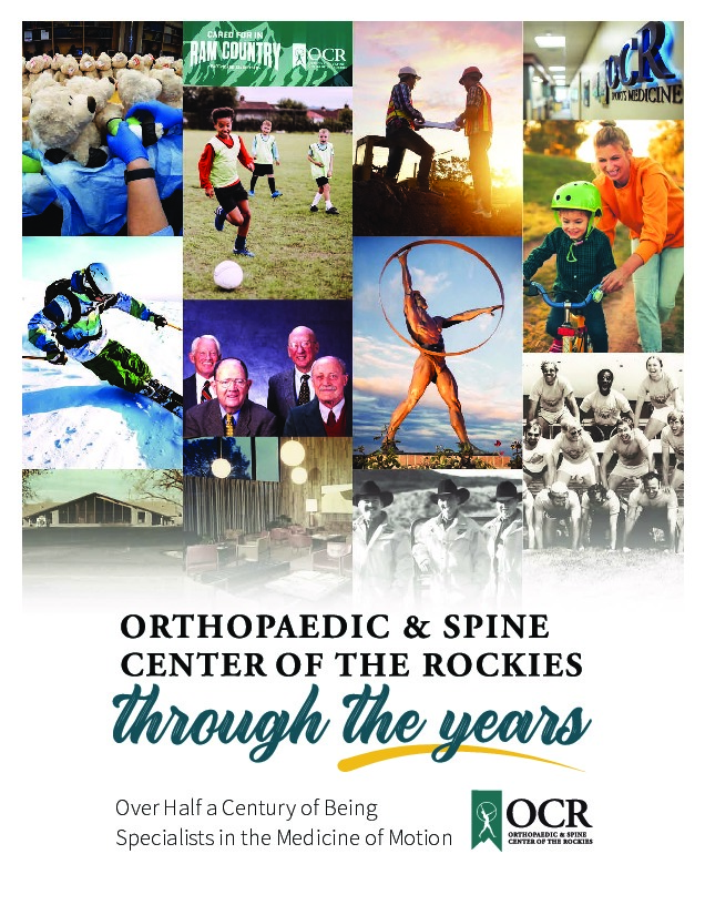 Orthopaedic & Spine Center of the Rockies – Celebrating 50 Years
