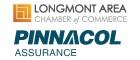 Longmont Chamber Safety Program Through Pinnacol Assurance Saves Members Money logo