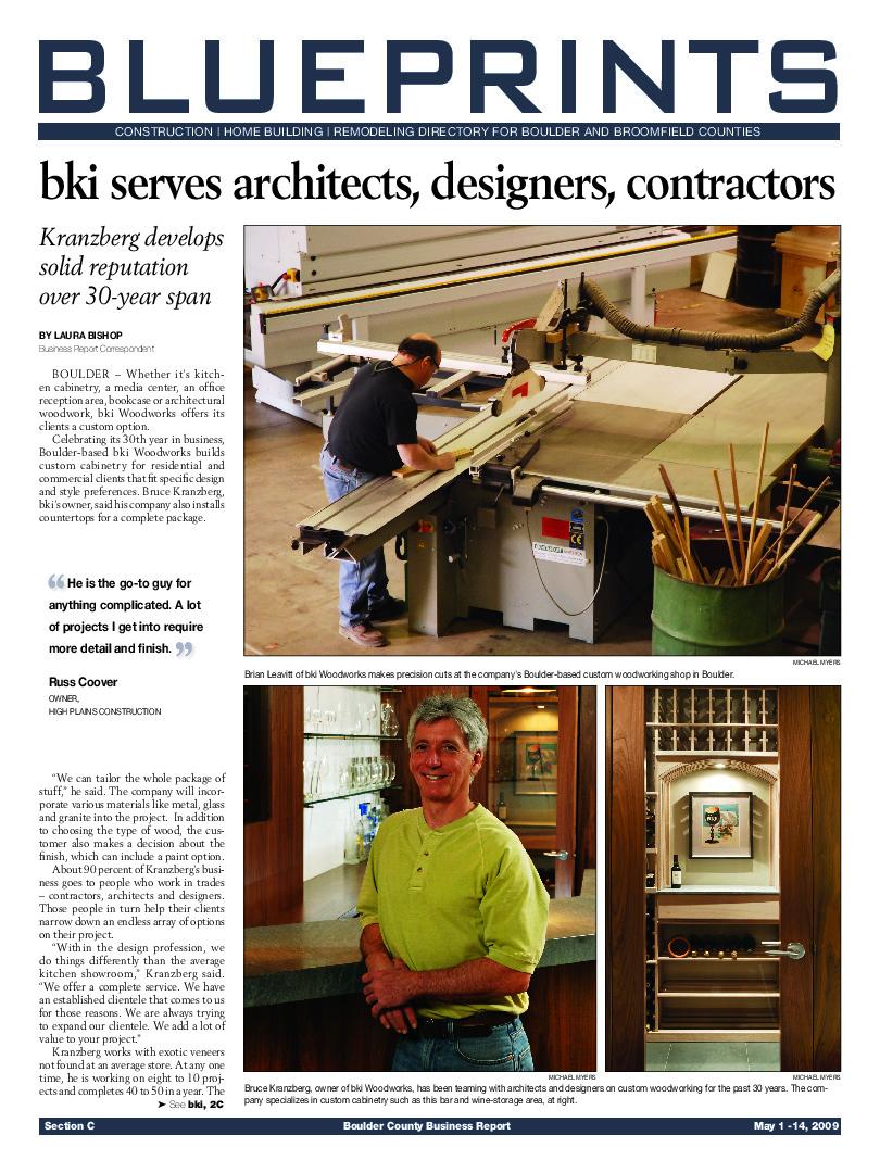 Blueprints – 2009 BCBR